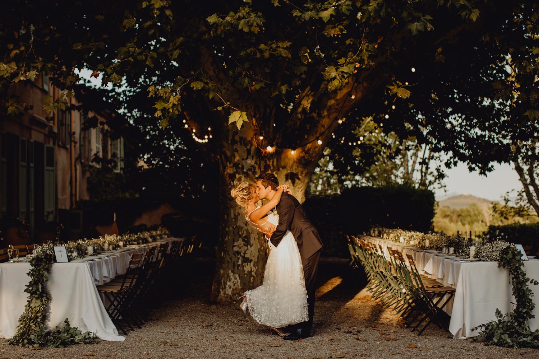 Mariage au Château des Demoiselles dans le Var